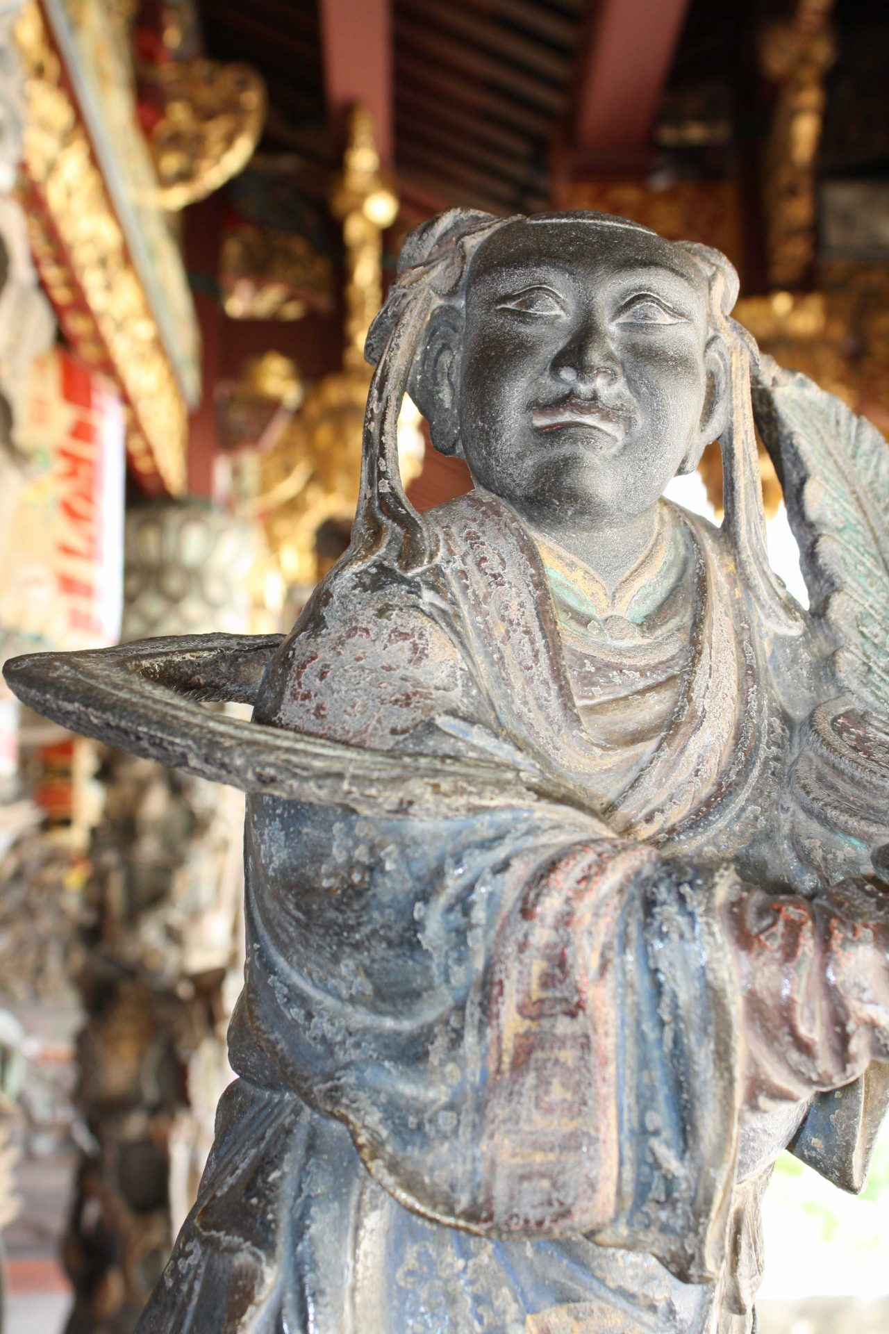 Penang statue temple