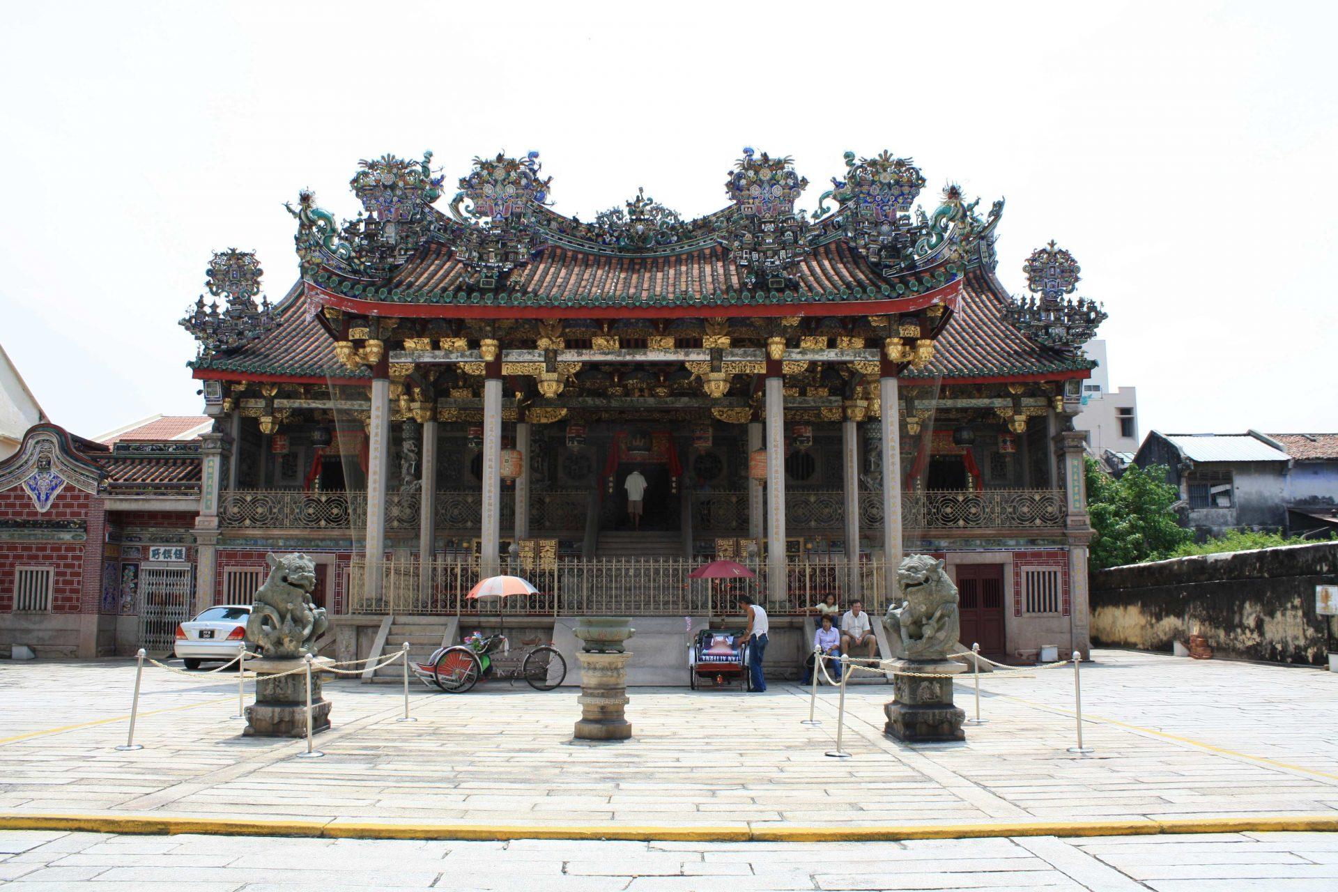Penang temple bouddhiste buddhist